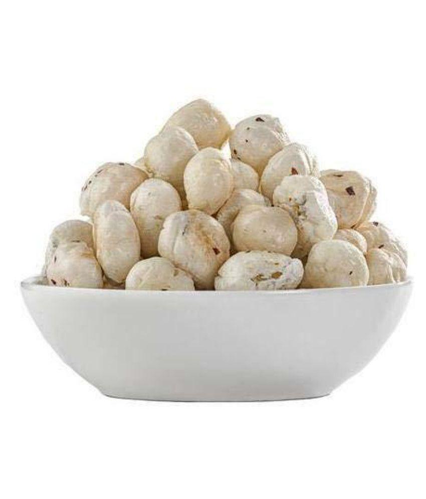 Jai Jinendra Lotus Seeds Pop /Gorgon Nut Puffed Kernel (Makhana) 500 g