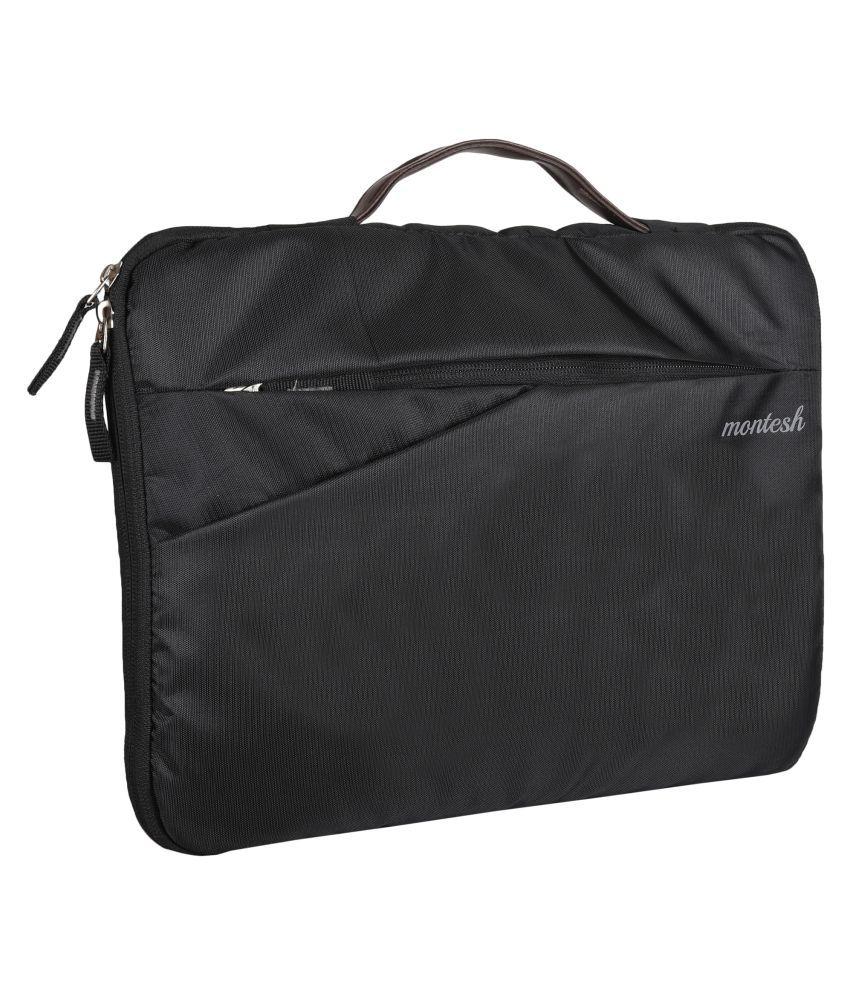 Montesh Black Laptop Sleeves