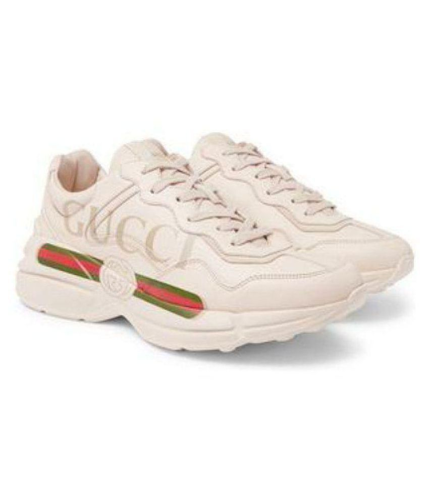 new york amazing selection shades of Gucci White Running Shoes - Buy Gucci White Running Shoes Online ...