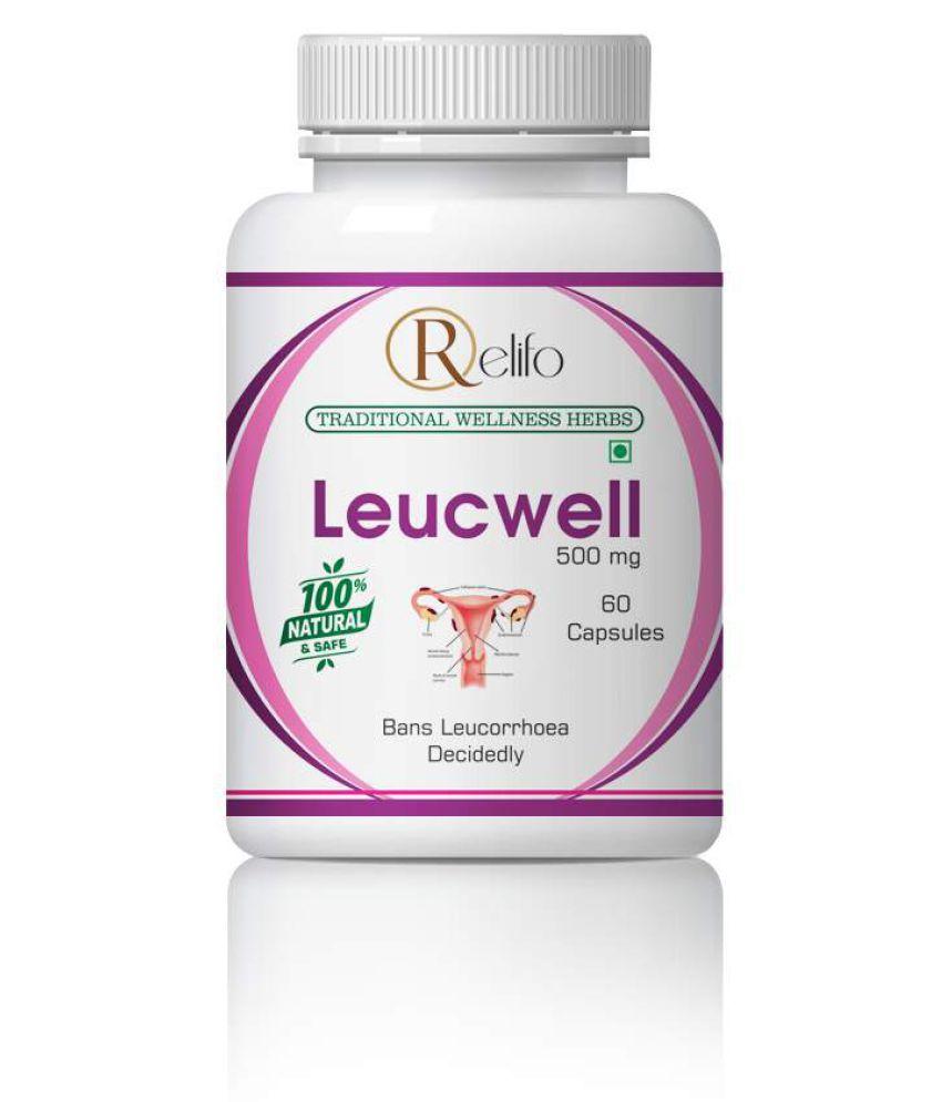 Relifo Ayurvedic Leucwell Capsule For Women Capsule 500 mg Pack Of 1