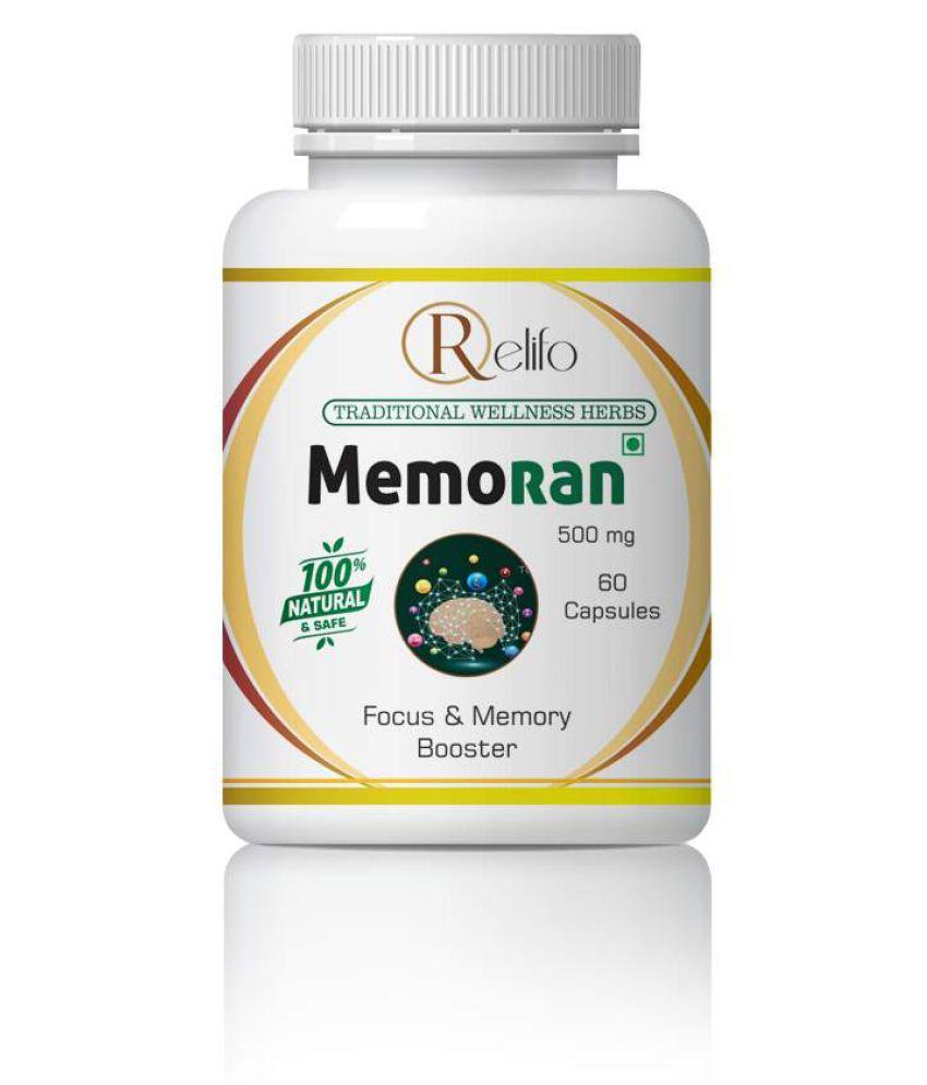 Relifo Memoran Memory Power & Focus memory Capsule 500 mg Pack Of 1