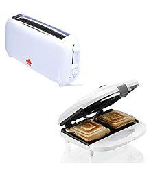 BMS Lifestyle toaster+sandwhich 1500 Watts Pop Up Toaster