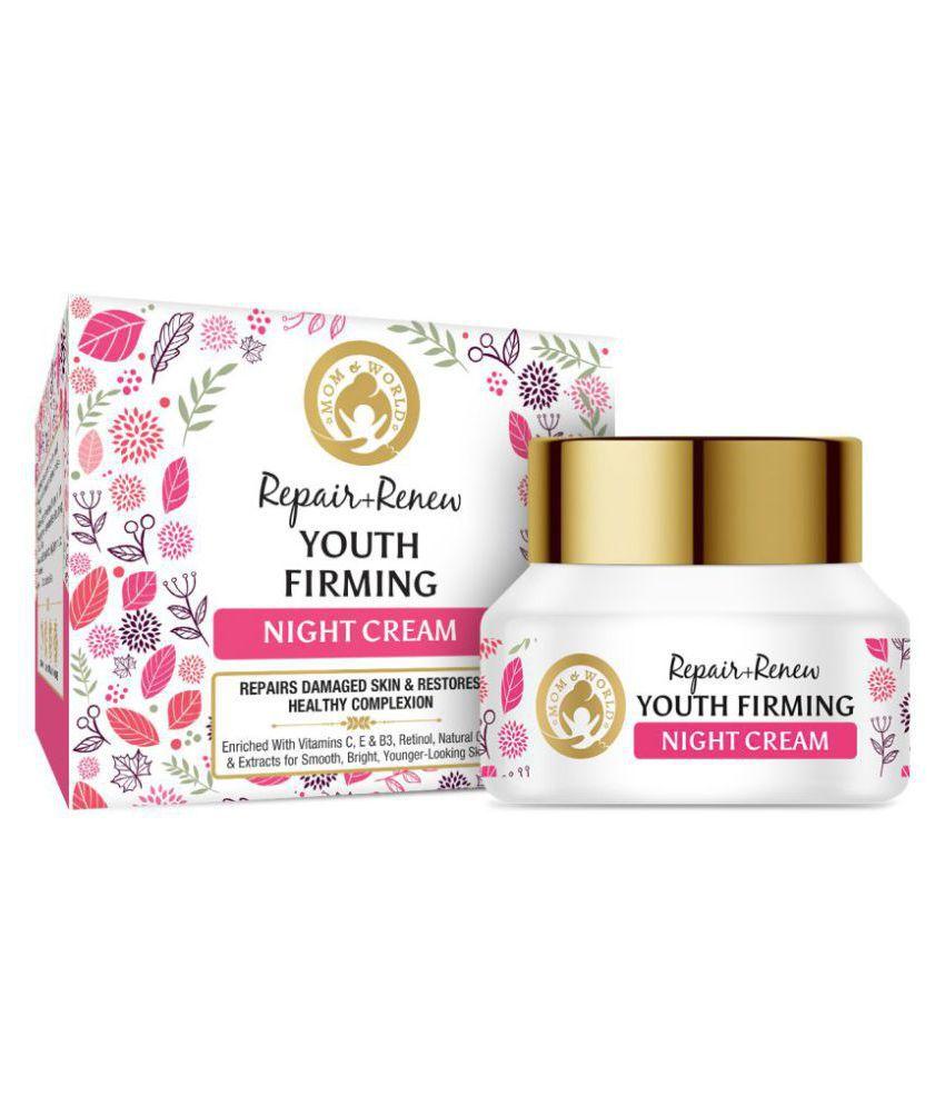 Mom & World Repair + Renew Youth Firming Night Cream 50 gm