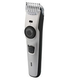 NHT KM-7507 Prime series Beard Trimmer ( Silver )