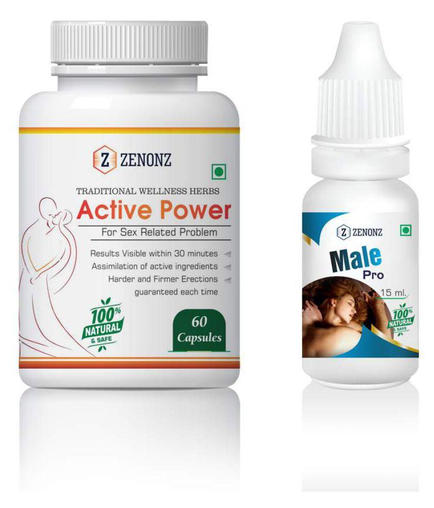 zenonz Big Panic & Body Massager Capsule & Oil 15 ml Pack Of 1