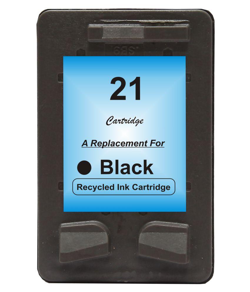 RPS 21 Black Pack of 1 Cartridge for HP Deskjet D1360, D1460, D1550, D1560, D2360, D2460, 3920, 3940 Printers •HP Deskjet F370,