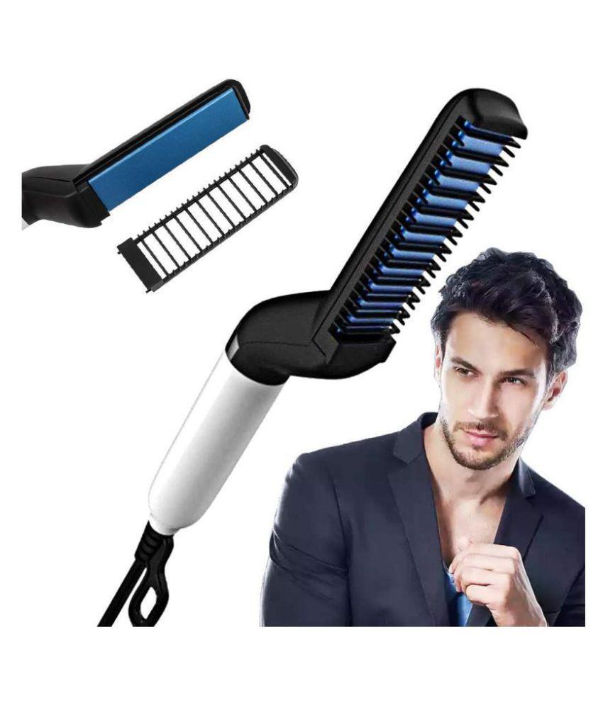 Nyalkaran import export Beard Modelling Comb Hair Straightener ( MULTICOLOR )