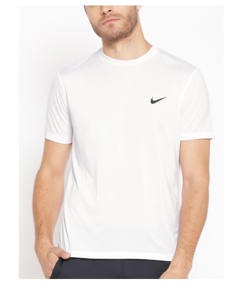 plain white nike t shirt