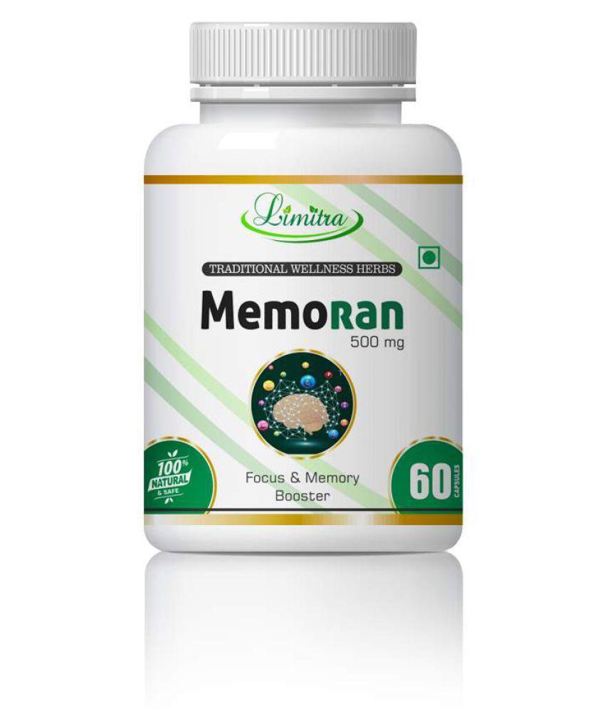 limitra Memoran For Memory Power & Brain Power Capsule 500 mg Pack Of 1