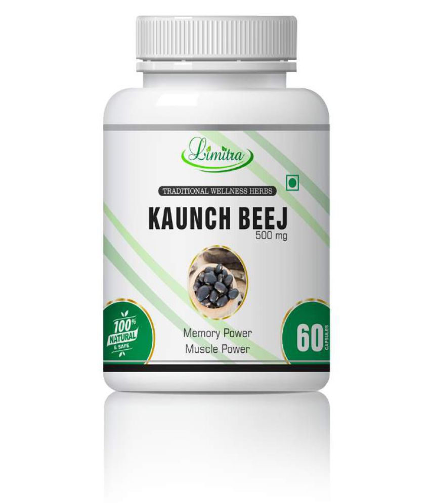 limitra Kaunch Beej For Sexual Wellness Capsule 500 mg Pack Of 1