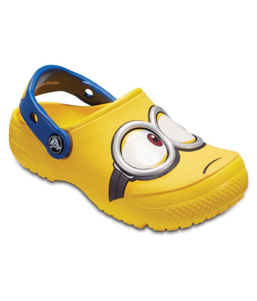 Crocs FunLab Minions Yellow Kids Clog
