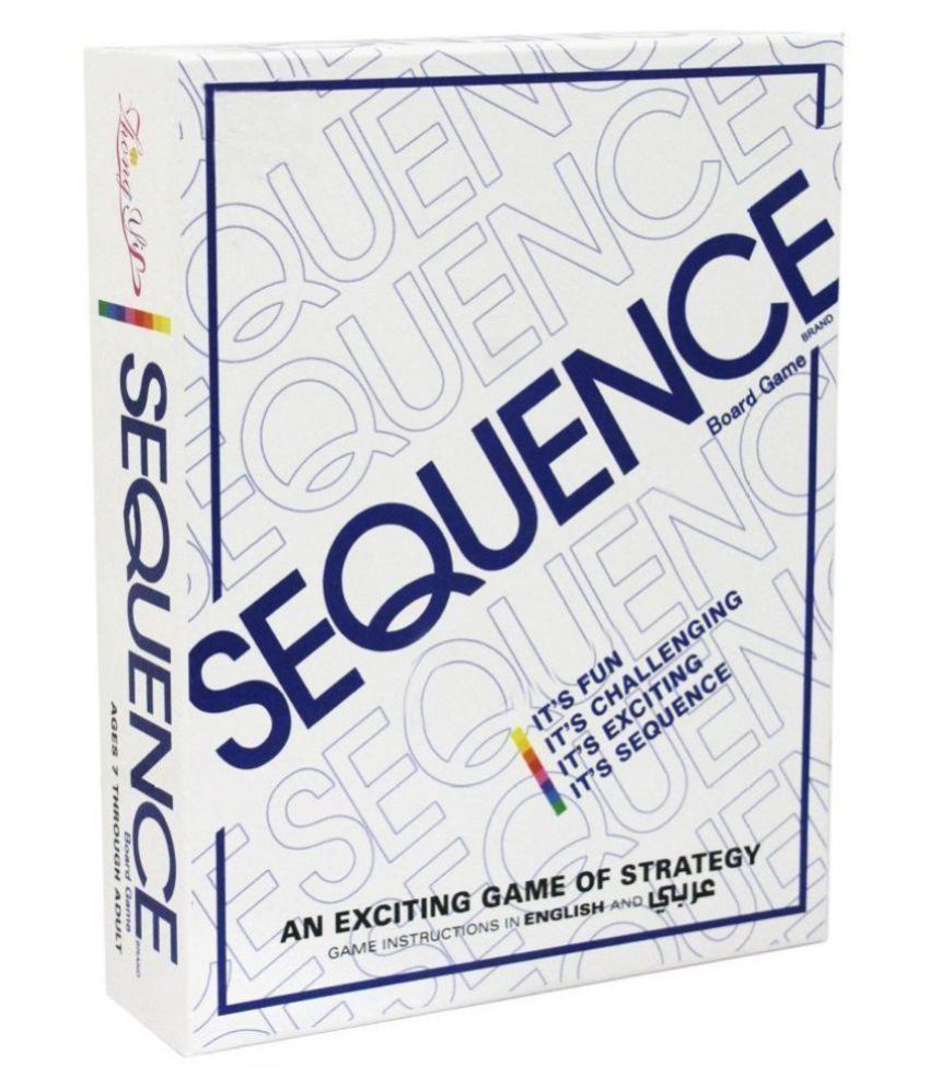 Fastdeal Sequence Card Board Games for Kids/Adults