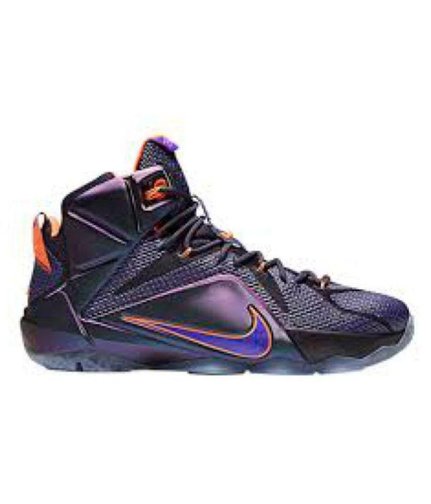on sale a584d f71aa Nike LeBron James Purple Basketball Shoes