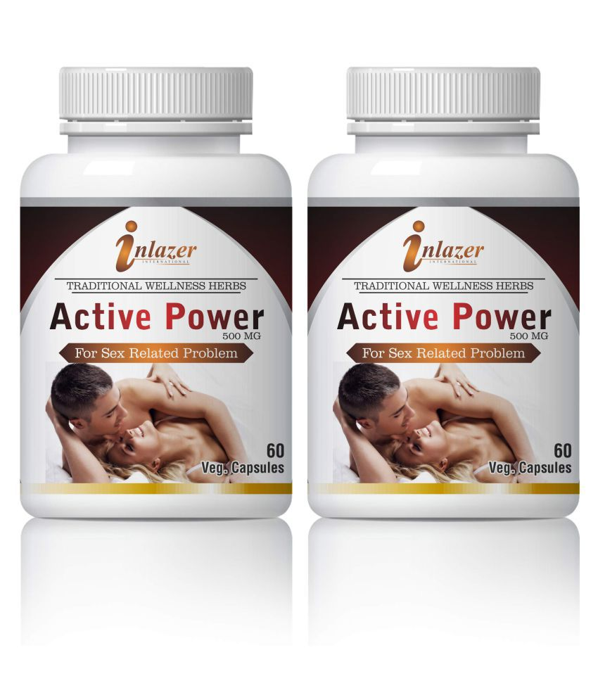 Inlazer Active Power For Sexual Capsule For Men Capsule 500 mg Pack Of 2