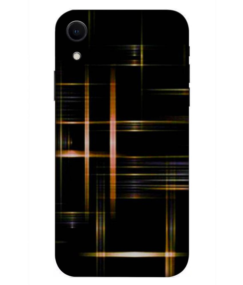 Apple iPhone XR 3D Back Covers By DoubleF