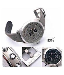 Royal Enterprise royal3322 Leather Chronograph Men's Watch