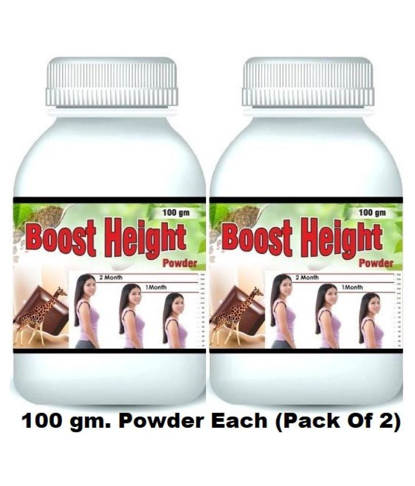 Hind Healthcare Boost Height Increase Chocolate Flavor Powder 200 gm Pack Of 2