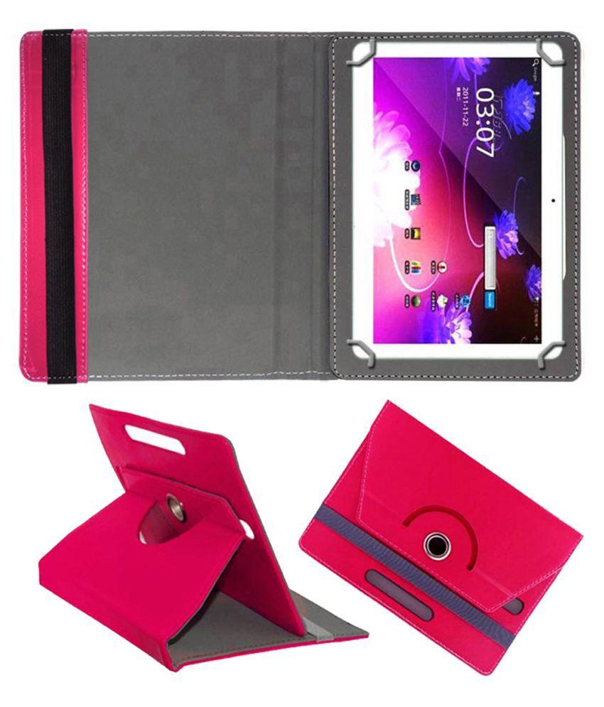 Fidgetgear 10.1 Inch Flip Cover By FASTWAY Pink