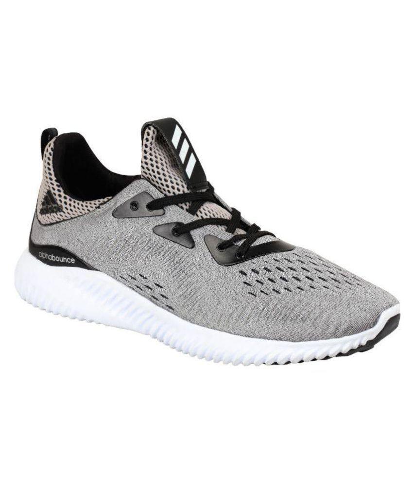 Adidas ALPHA BOUNCE 2 Gray Running