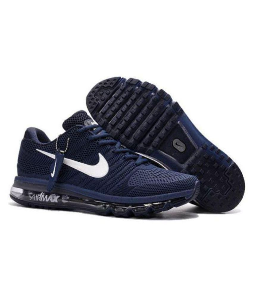 detailed look c20e9 5a501 Nike AIRMAX 2018 LIMITED EDITION Blue Running Shoes