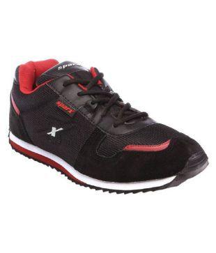 Sparx SM-119 Black Running Shoes - Buy