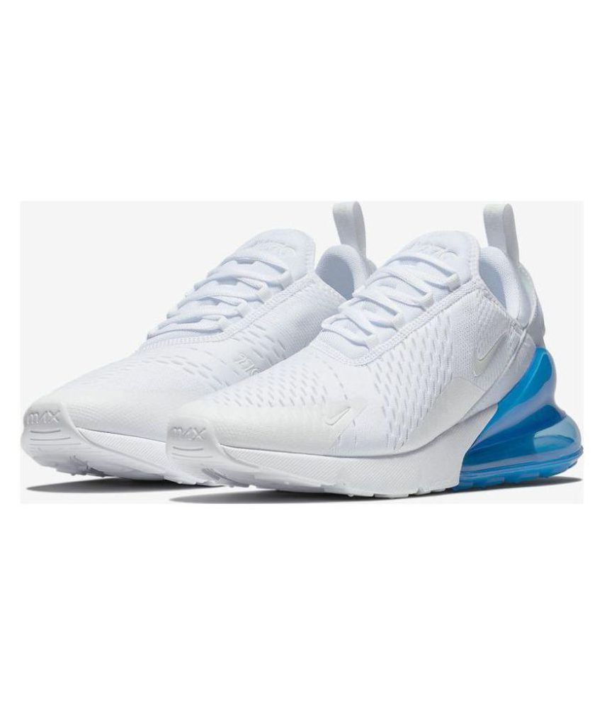 differently 7cfb7 736f9 Nike AIR MAX 270 White Running Shoes