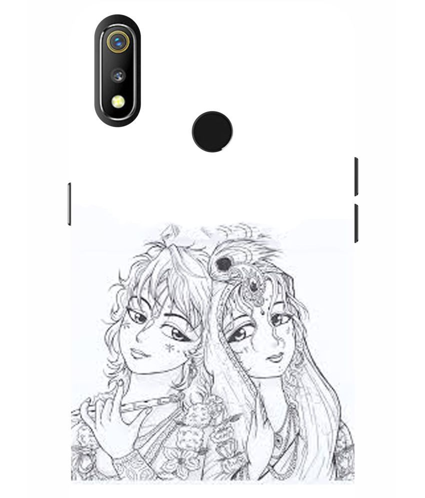 Realme 3 Printed Cover By VINAYAK GRAPHIC The back designs are totally customized designs