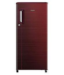 Whirlpool 185 Ltr 3 Star 200 IMPC PRM 3S Single Door Refrigerator - Maroon