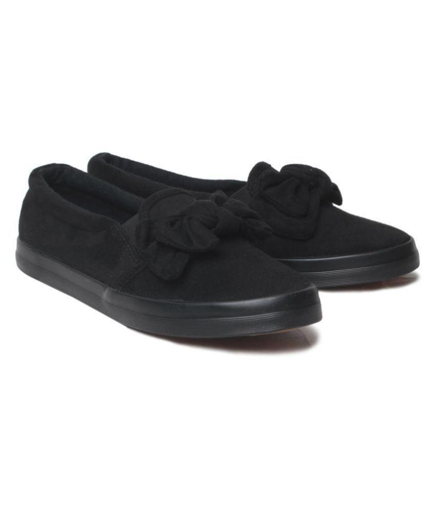 Klaur Melbourne Black Casual Shoes