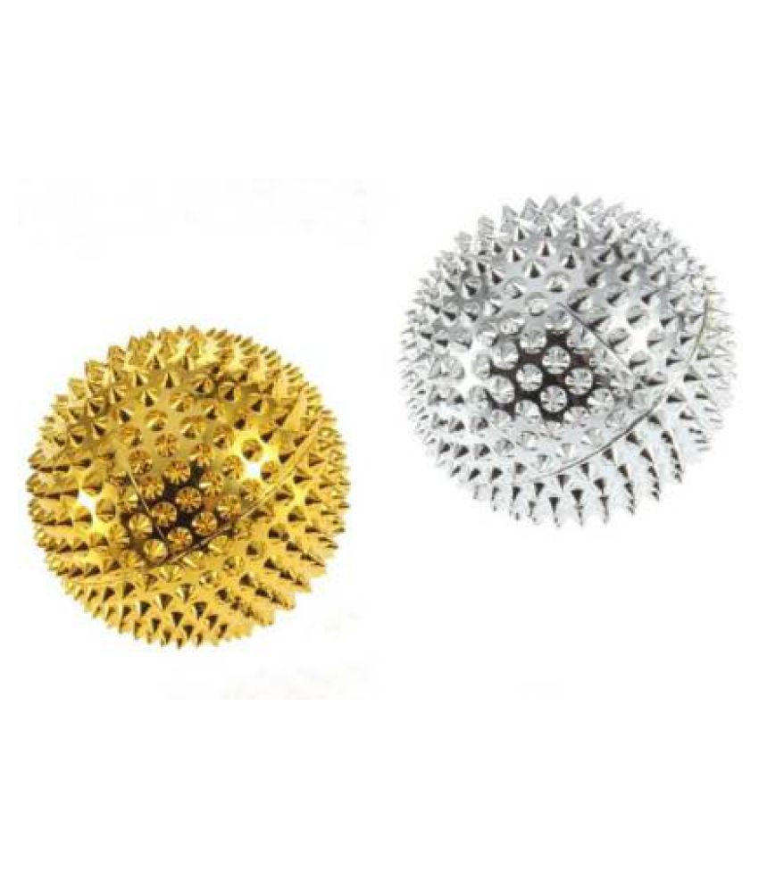 YUVAAN TRADERS Acupressure Magnetic Ball Set Of 2 Massager, Exercise, Magnetic Therapy Set of 2