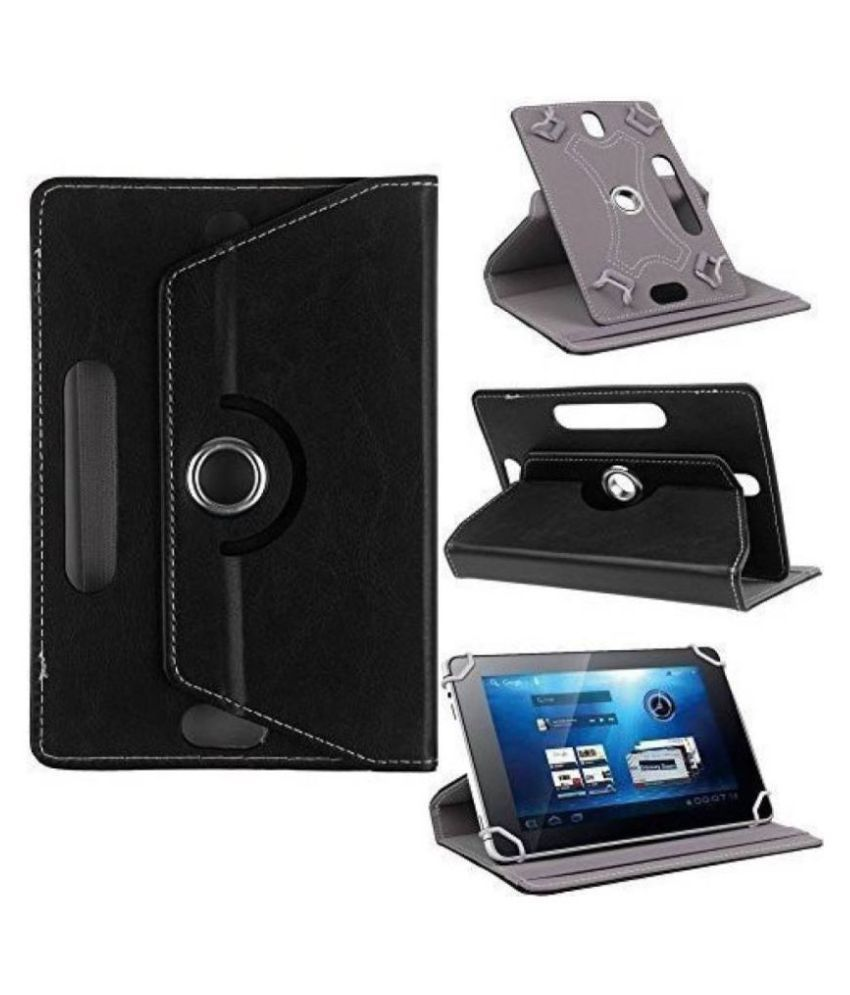 Acer One 7 Flip Cover By Cutesy Black