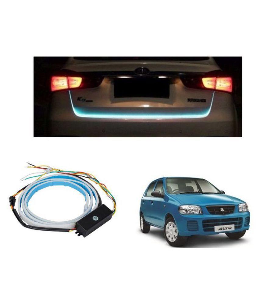 Trigcars Maruti Suzuki Alto Car Tailgate LED Strip Light