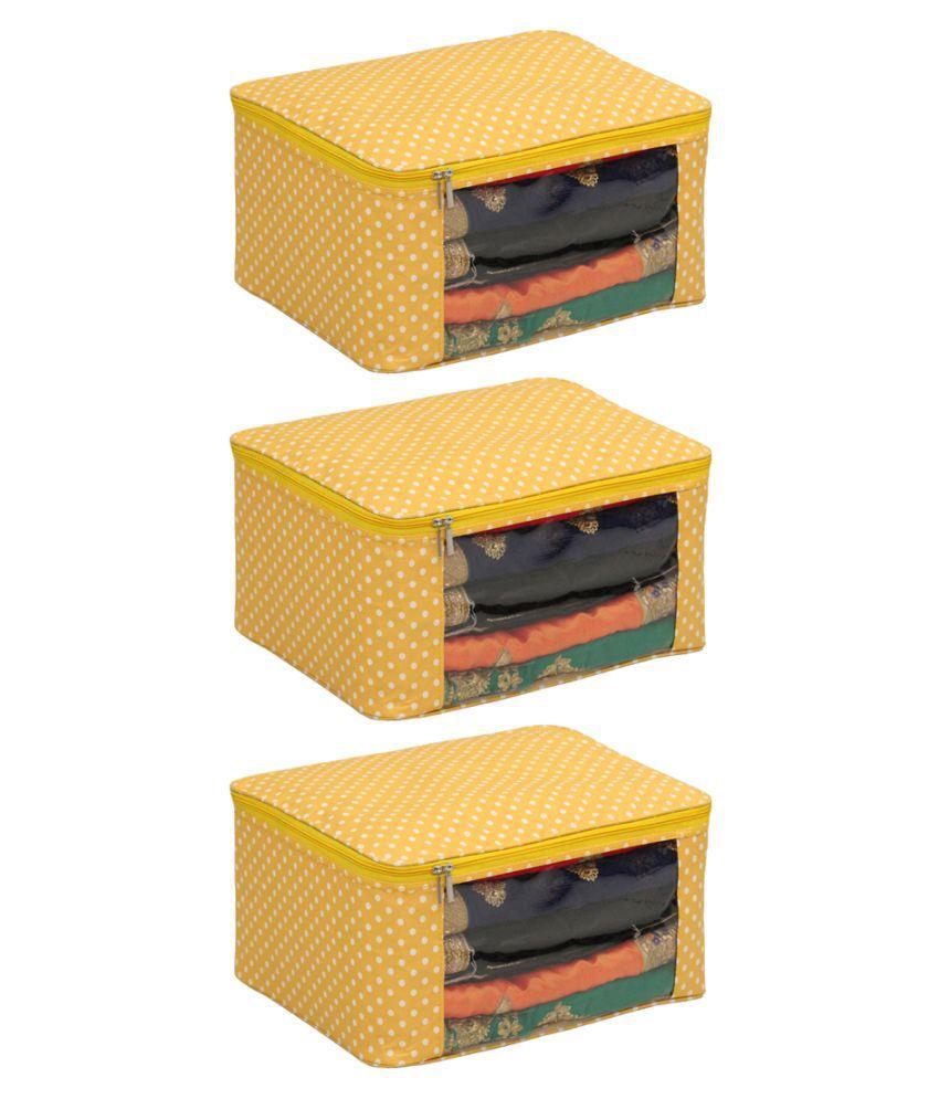ZAKHRO Multi Saree Covers - 3 Pcs