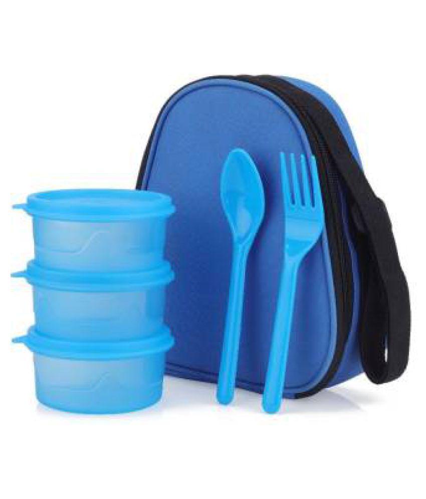 SKYHEART Blue Polypropylene (PP) Lunch Box