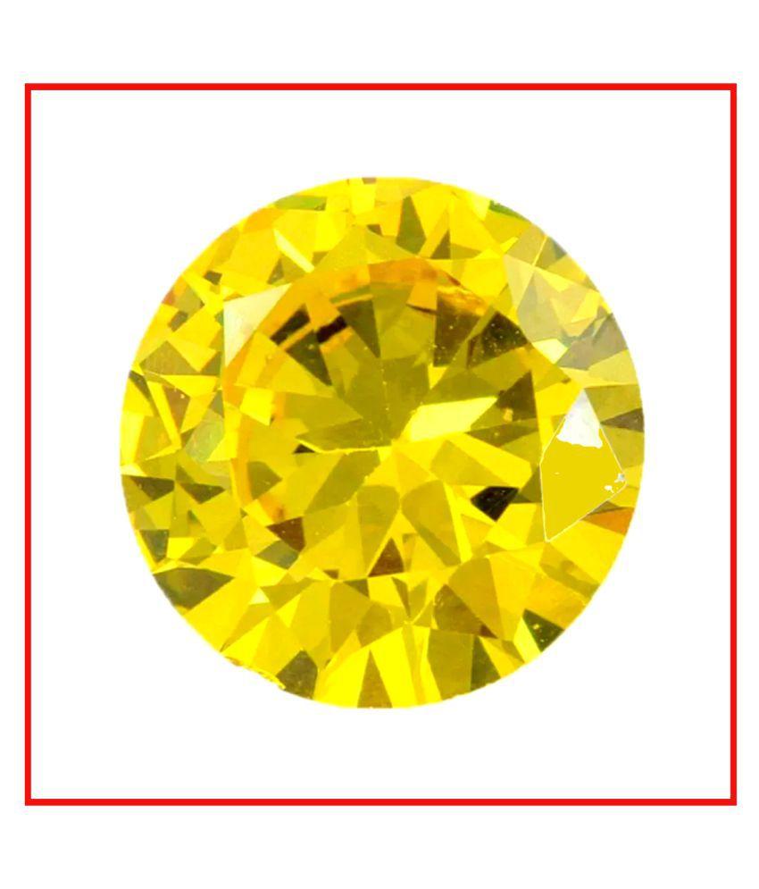 Maya Gems/ Best Quality Yellow Diamond Gemstone
