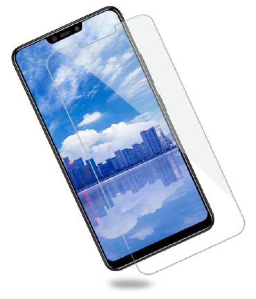 Vivo Y83 Pro Tempered Glass Screen Guard By GLAZE Full Glue with Precise Curve Edges