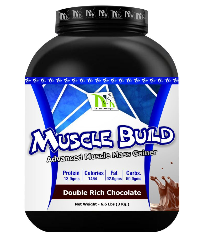 NSN Muscle Build 3 kg Powder