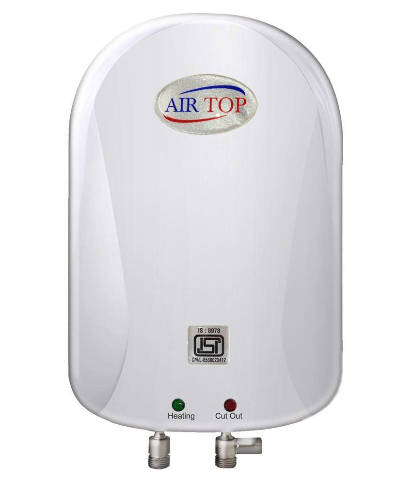 Air Top 1 Ltr NEO Storage - Geysers White