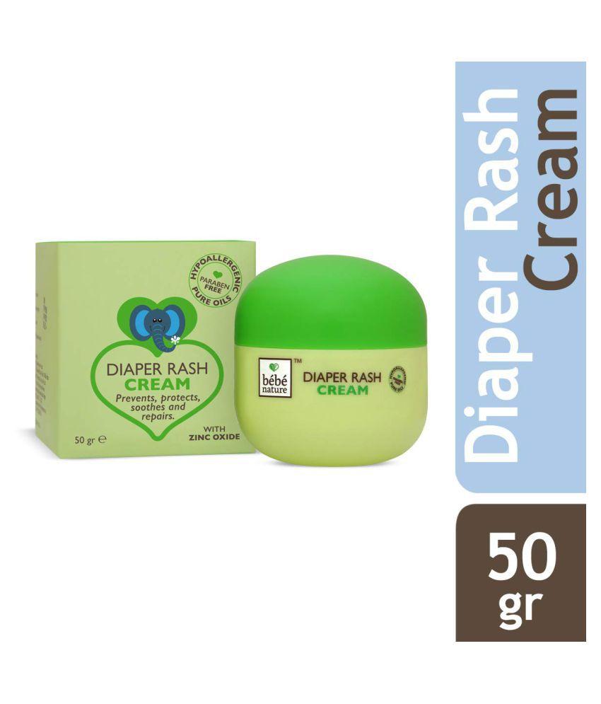 Bebe Nature atural Diaper Rash Cream with Zinc Oxide  (50 g)