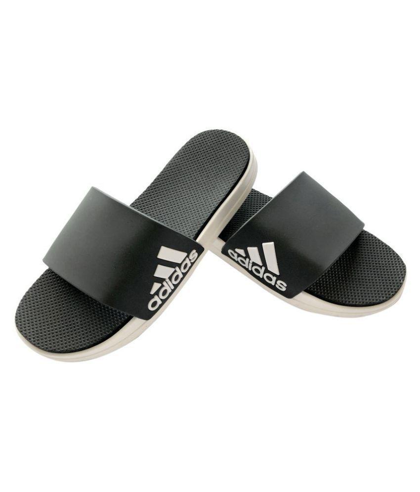 arriving big sale super cute Adidas Black Slide Flip flop