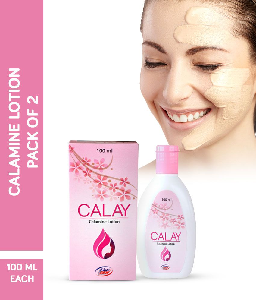 Calay Calamine Face & Body Lotion Pack Of 2 (100 ML Each)