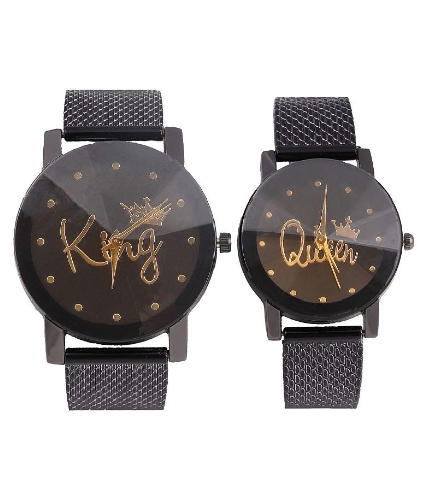 Real Time Analog Couple Watch