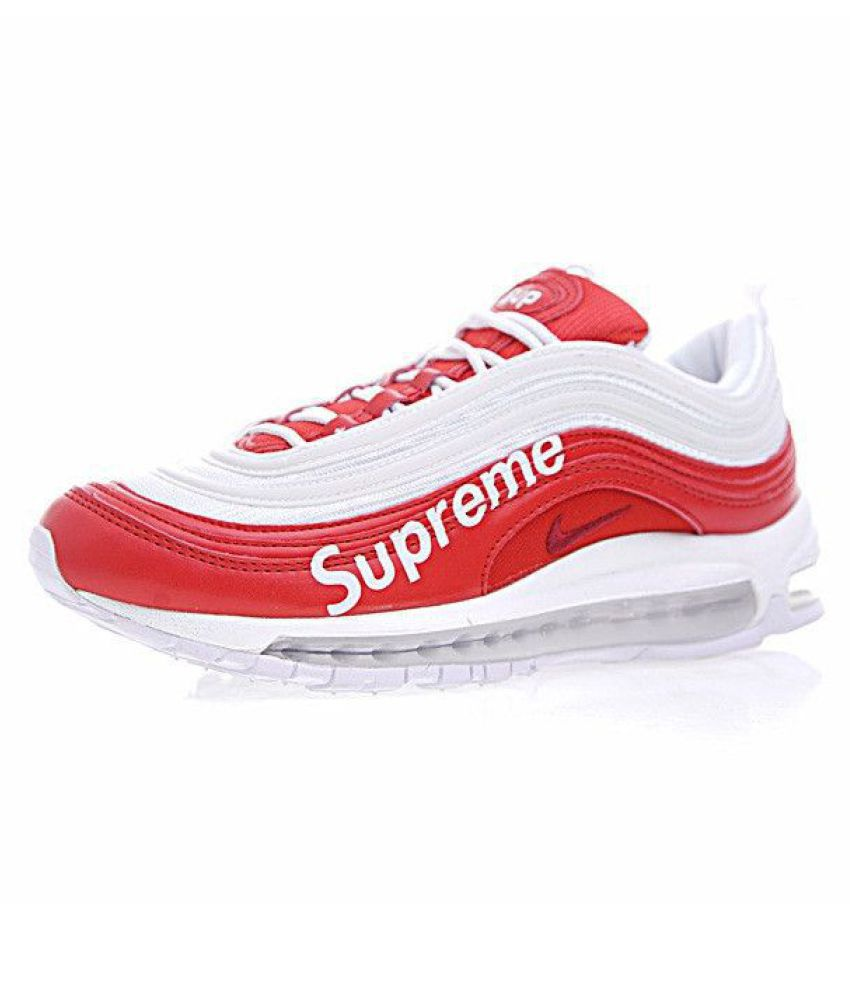 Nike Air Max 97 Supreme Red Running Shoes