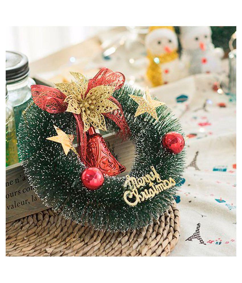 Wonderbaarlijk Christmas Tree Decoration Small Wreath Ornament Home Decor Holiday TL-86