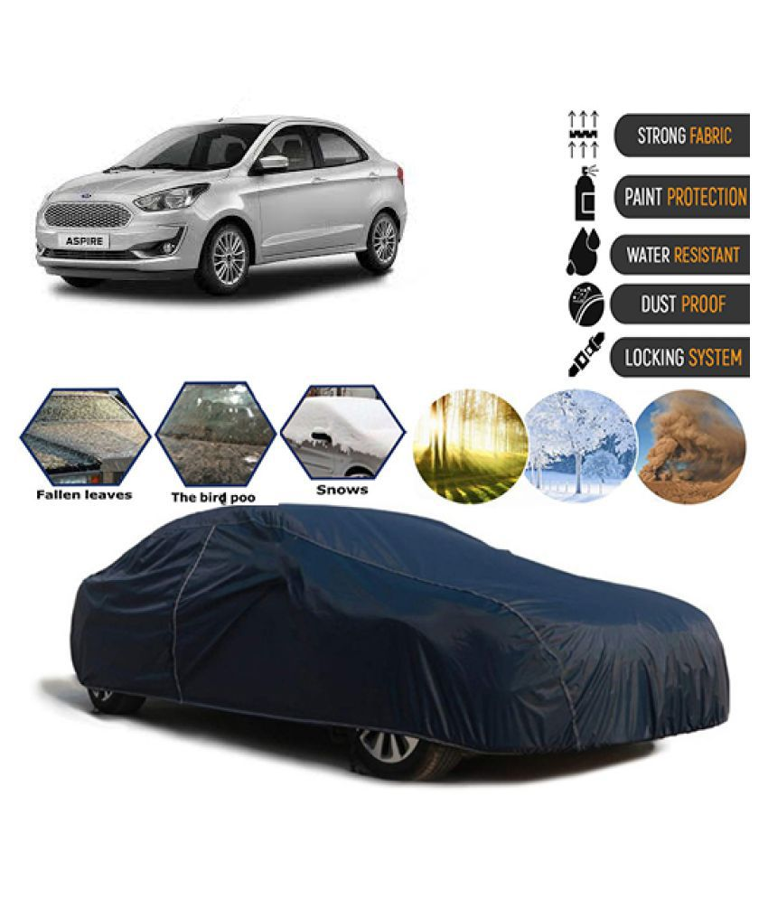 Goldkart Car Body Cover for Ford Aspire Blue