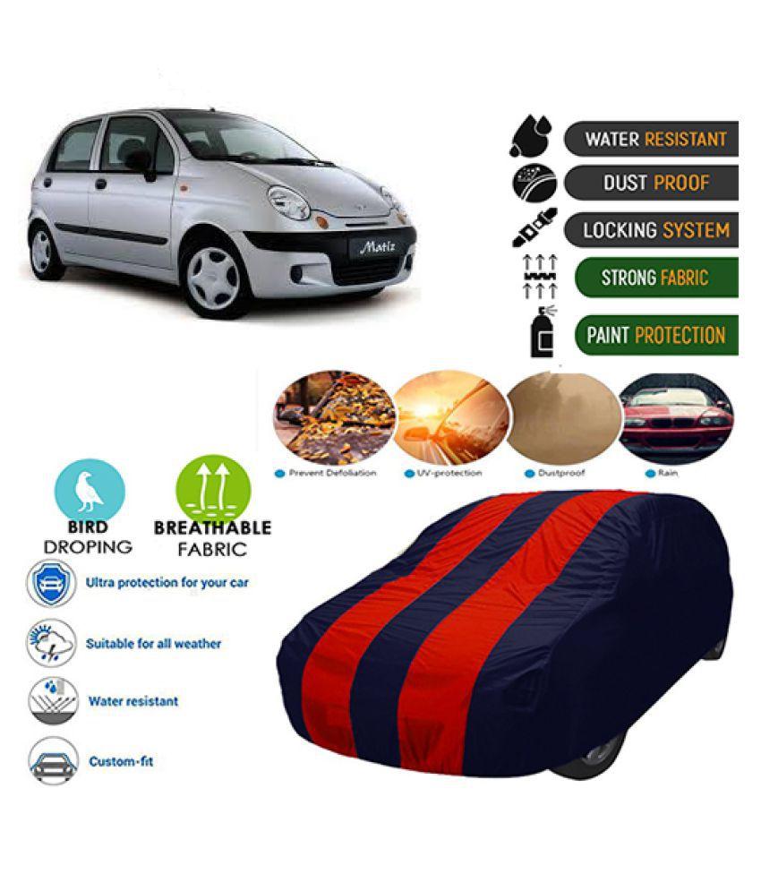 Goldkart Car Body Cover for Daewoo Matiz Maroonblue