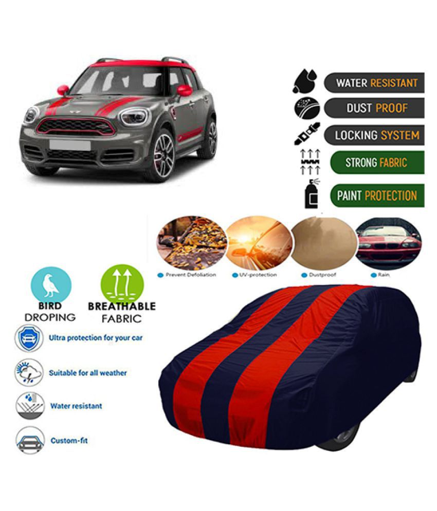 Goldkart Car Body Cover for Mini Countryman Coupe Maroonblue