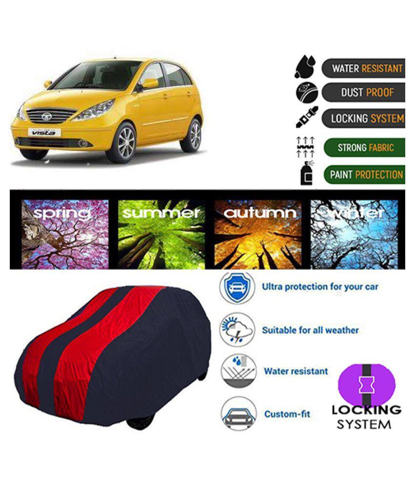 Goldkart Car Body Cover for Tata Indica V2 [2011-2013] Maroonblue