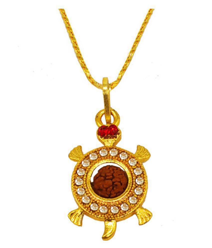 Men style  Turtle  God Pendants   Lockets  Gold-plated Brass, Wood Pendant Set
