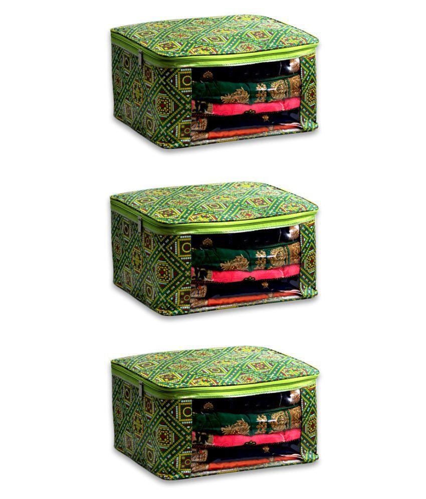 THOBHAN Multi Saree Covers - 3 Pcs
